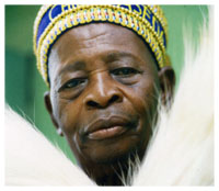 Aseda, one of the late Ifa priests of Nigeria